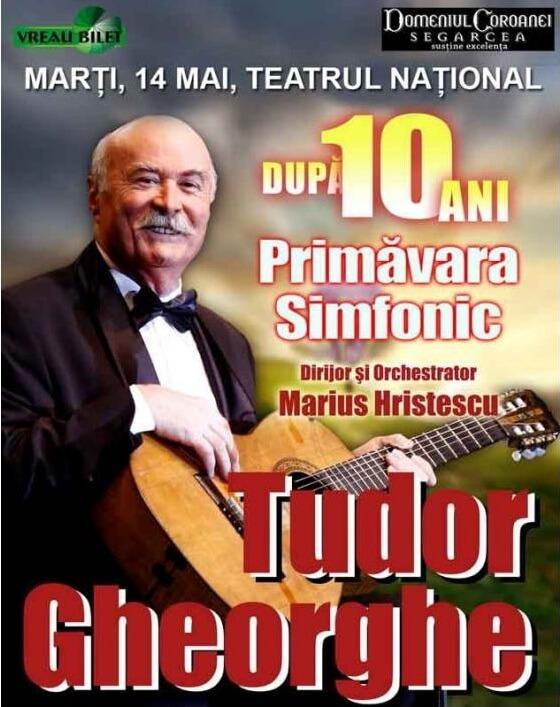 Tudor Gheorghe Primavara Simfonic la Iasi 2013