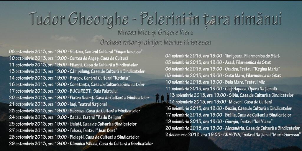 program turneu tudor gheorghe 2013