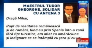 tudor gheorghe solidar cu antena3 - 1