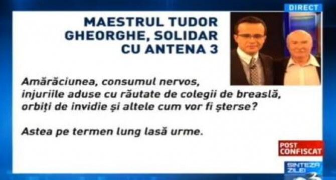 tudor gheorghe solidar cu antena3 - 3